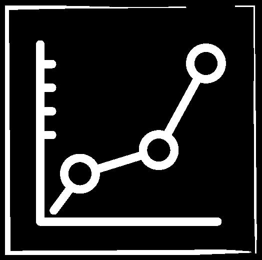 Chart People Line Chart Logo